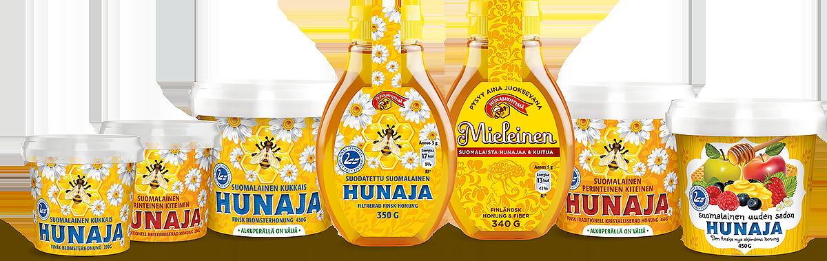 hunajavalikoima