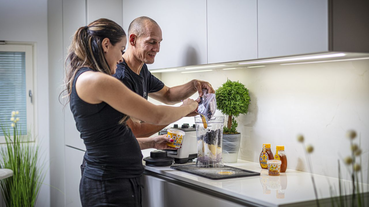 Amin Asikainen ja Nadia Ammouri